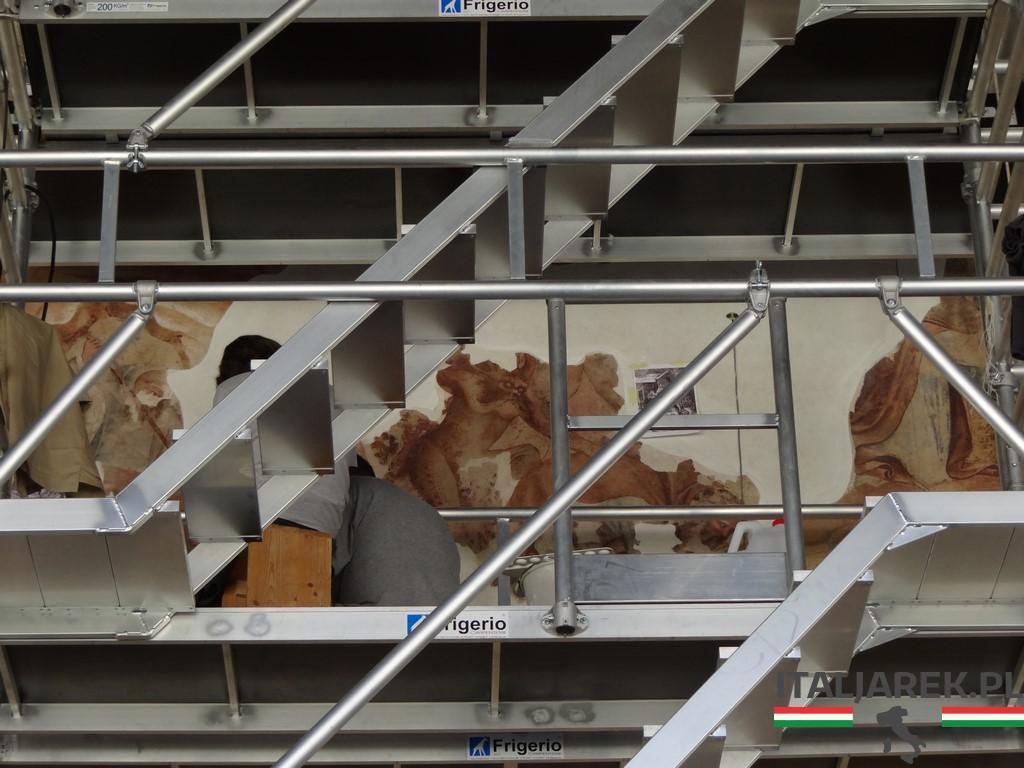 Restauracja fresków Camposanto