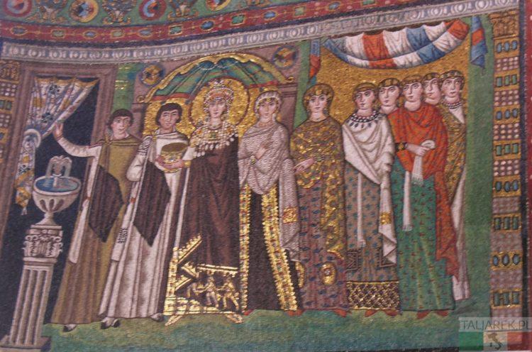 Rawenna bazylika San Vitale - orszak Teodory