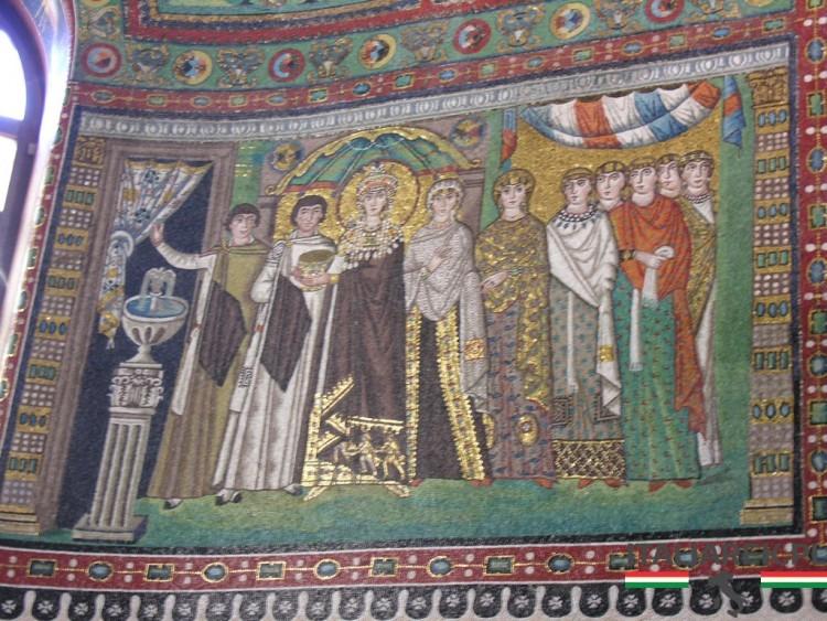 Bazylika San Vitale orszak Teodory