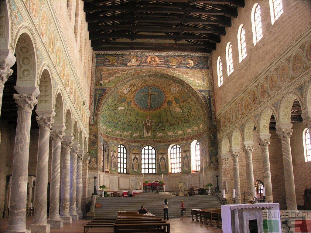 Bazylika Sant'Apollinare in Classe - wnętrze