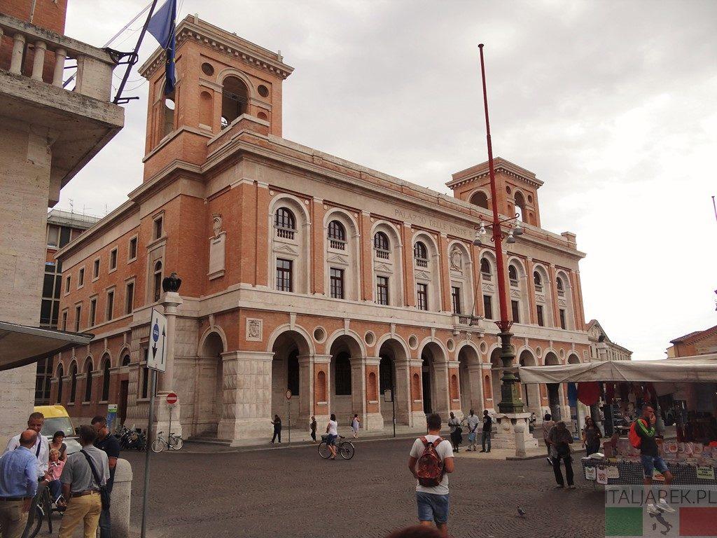 Forli - budynek poczty