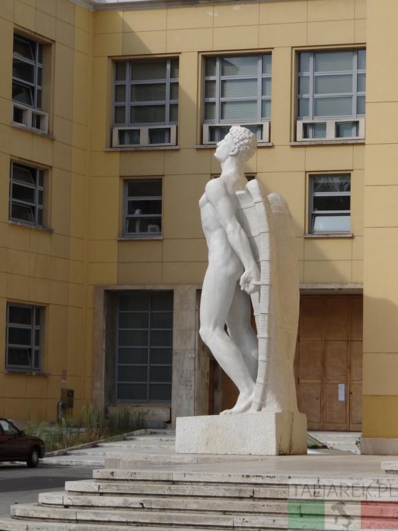 Forli - statua Ikara