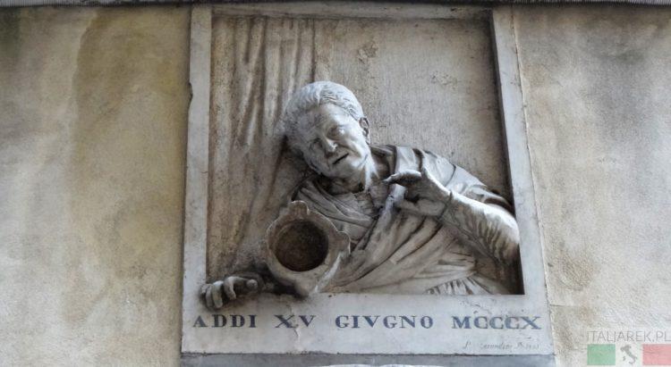 Lucia Rossi - tablica, Wenecja