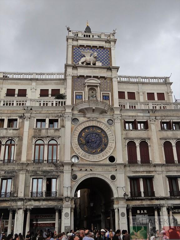 Torre dell Orologio - Wenecja