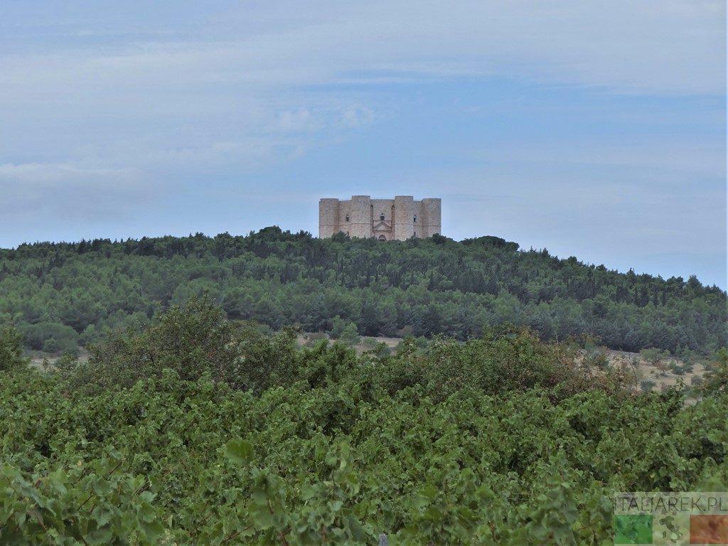Castel del Monte koronujący wzgórze