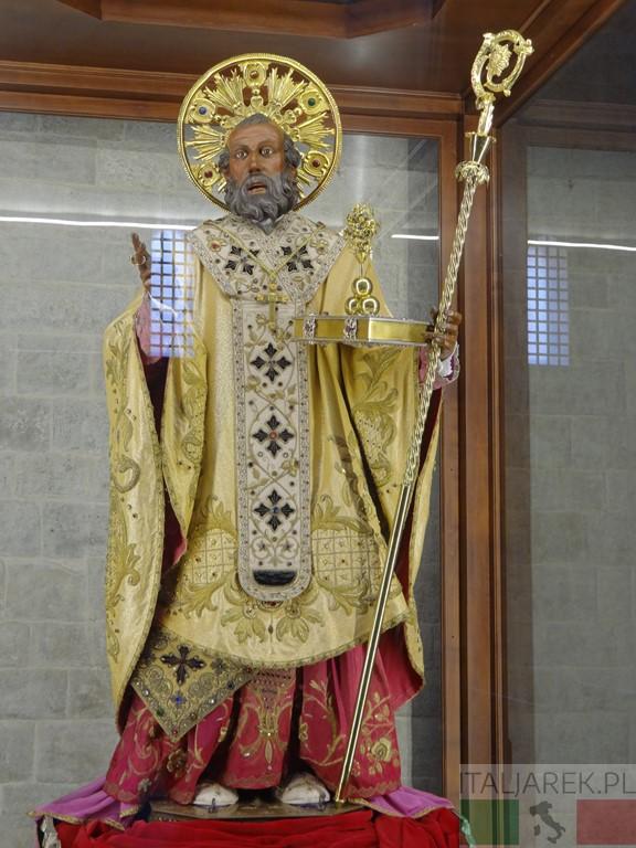 Św. Mikołaj - figura procesyjna