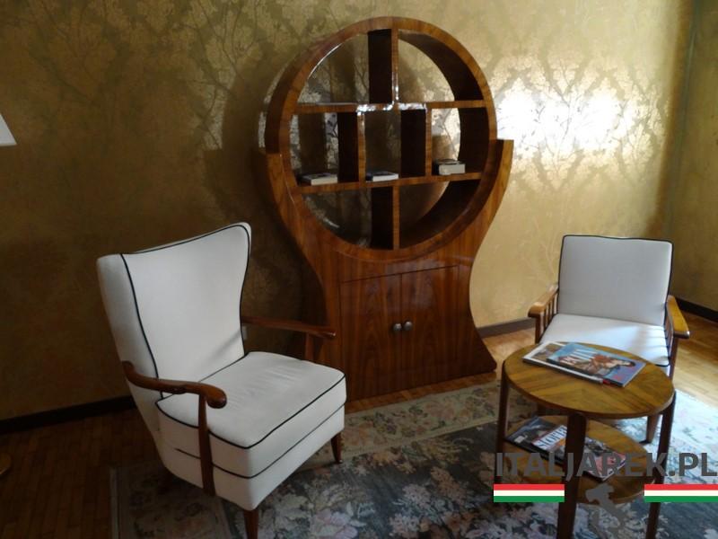 Grand Hotel Terme- pokój wypoczynkowy