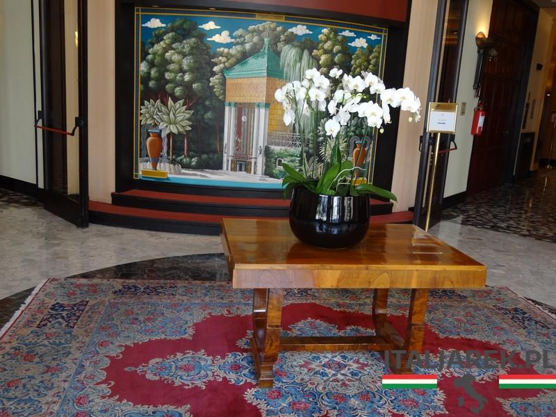 Grand Hotel Terme - hall wejściowy