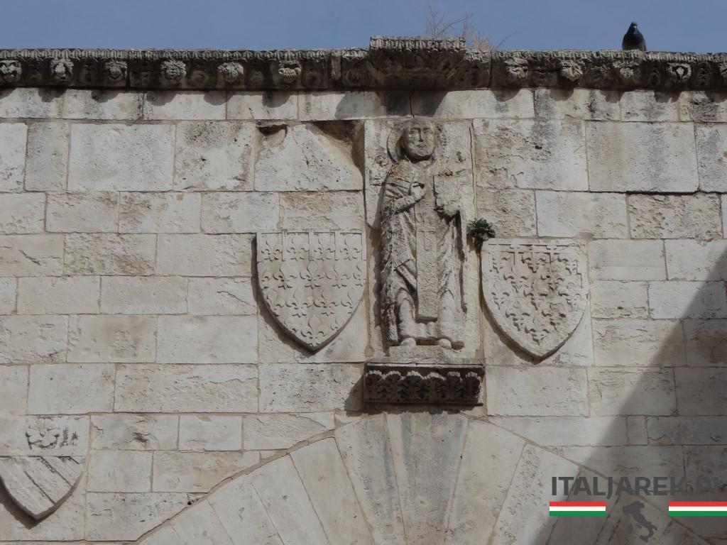 Wizerunek św. Mikołaja na Łuku Andegaweńskim