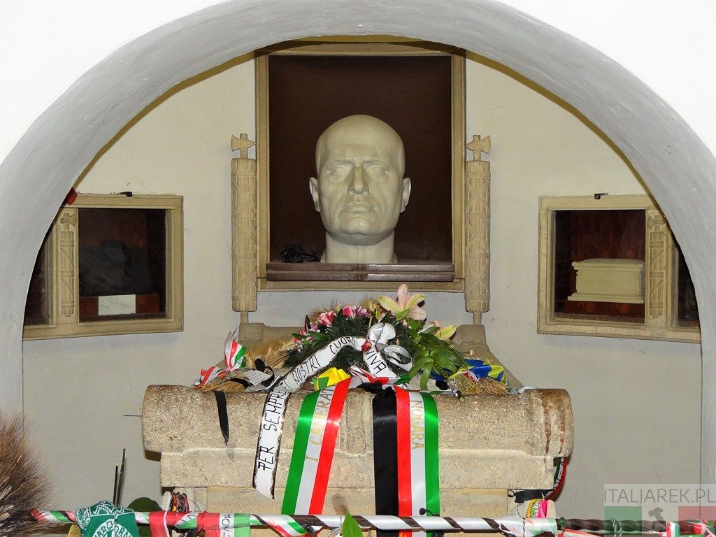 Predappio - grobowiec Mussoliniego