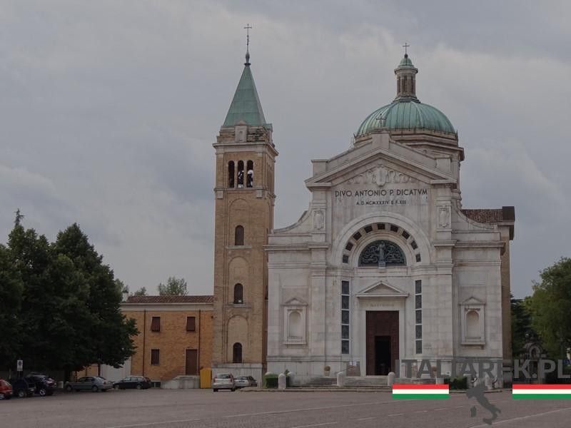 Predappio, Chiesa di Sant'Antonio, wrzesień 2015.