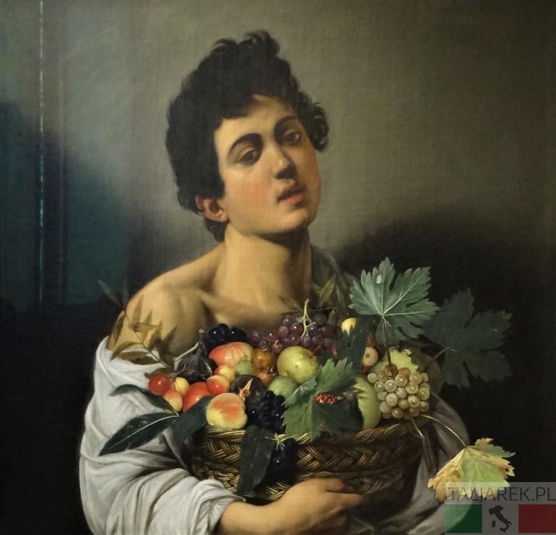 Caravaggio-Chłopiec-z-koszem-owoców