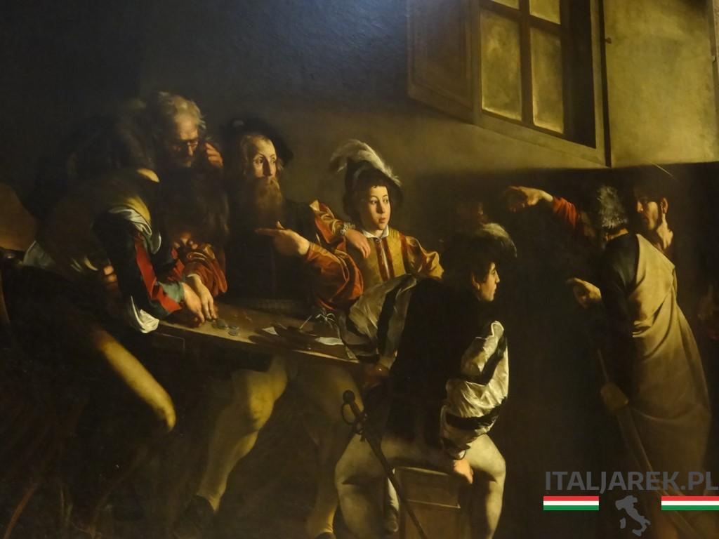 Caravaggio-Powołanie-św-Mateusza