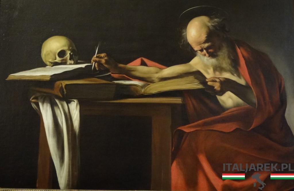 Caravaggio-sw-Hieronim-piszący
