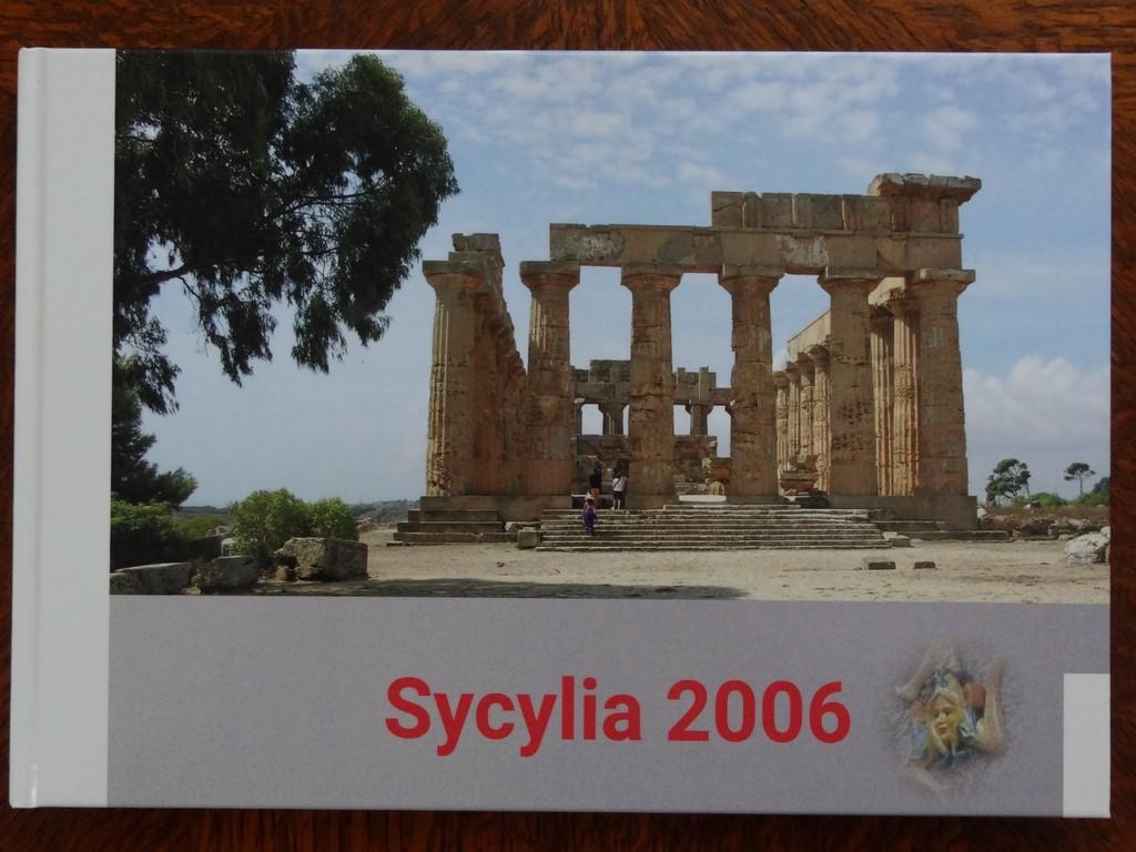 Fotoksiążka Sycylia okładka
