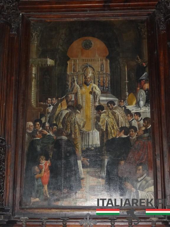 Majewski - msza pontyfikalna św. Berarda