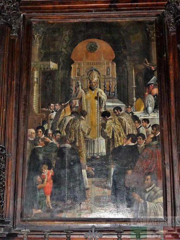 Ołtarz św. Berarda, katedra w Teramo, Sebastian Majewski