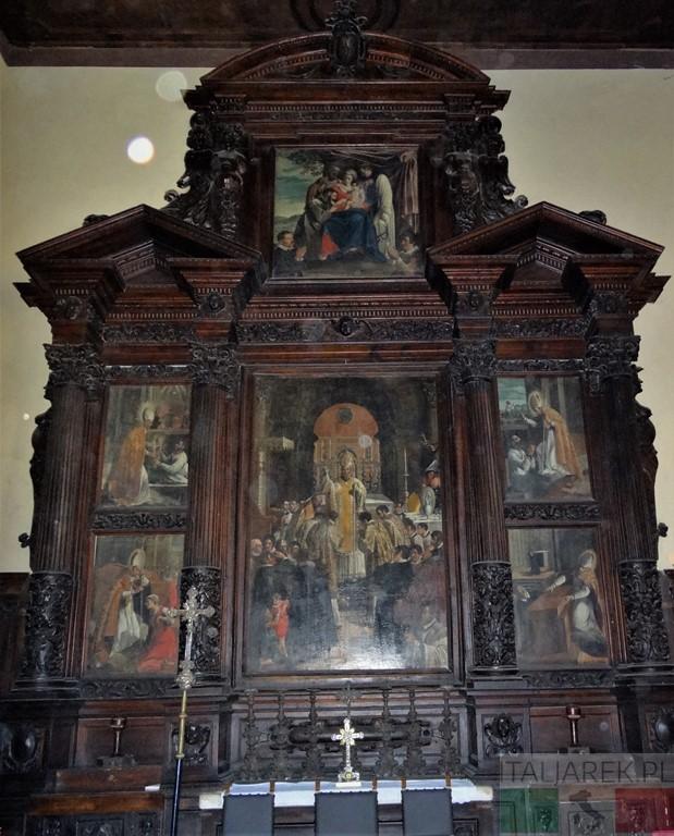 Ołtarz św. Berarda - katedra Teramo