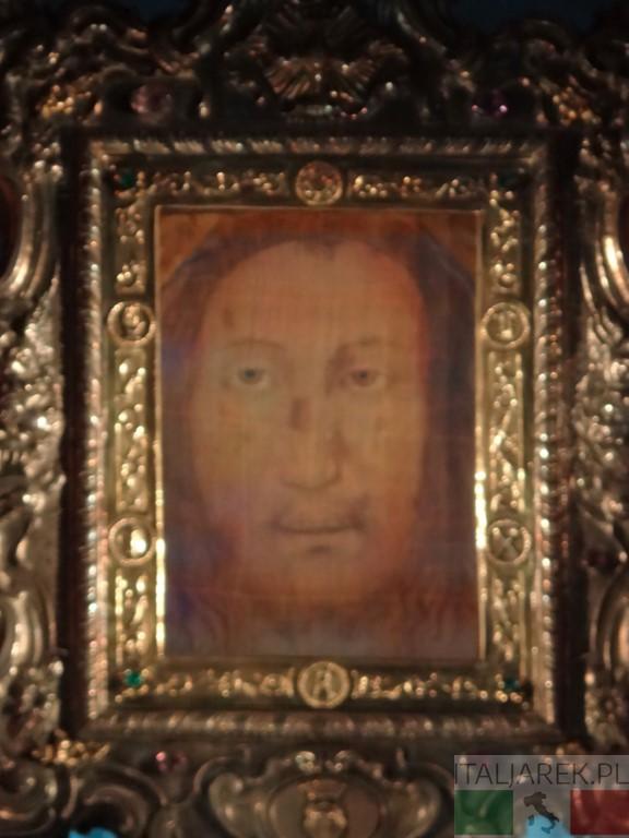 Chusta św. Weroniki - Manopello