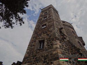 Wieża Jana na zamku Stolpen, w której była więziona hrabina Cosel.