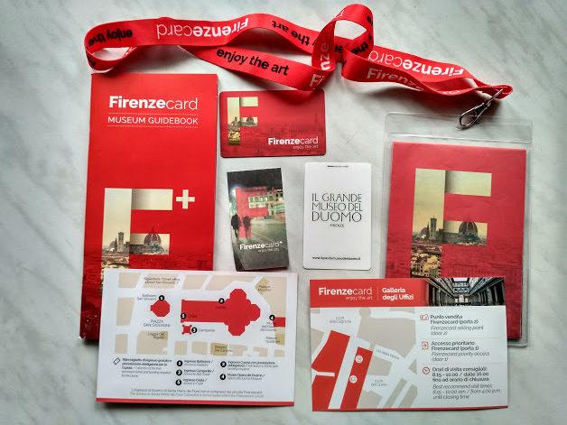 Florencja - z Firenzecard po mieście