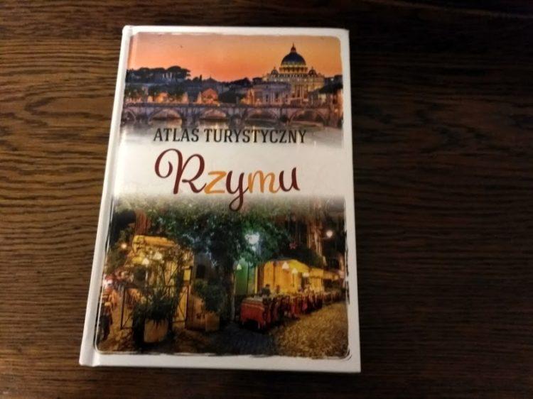 Atlas turystyczny Rzymu - okładka