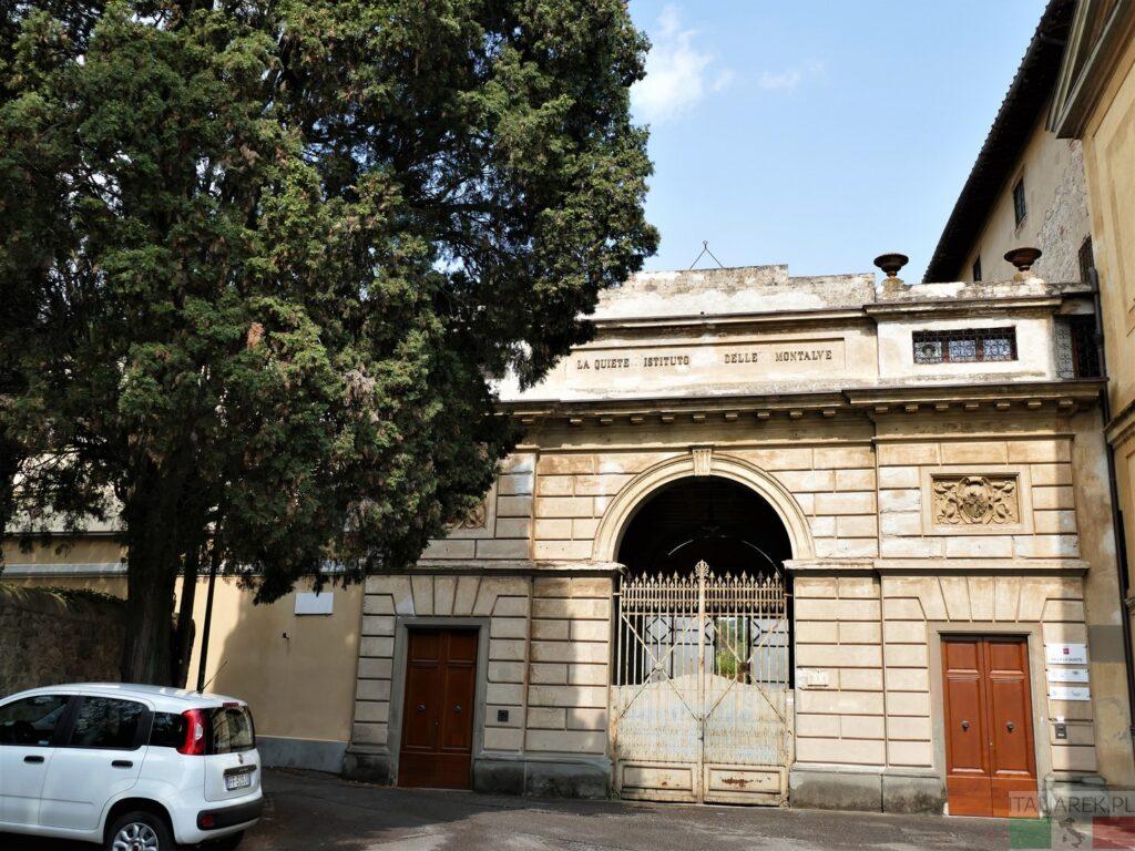 Villa la Quiete - wejście