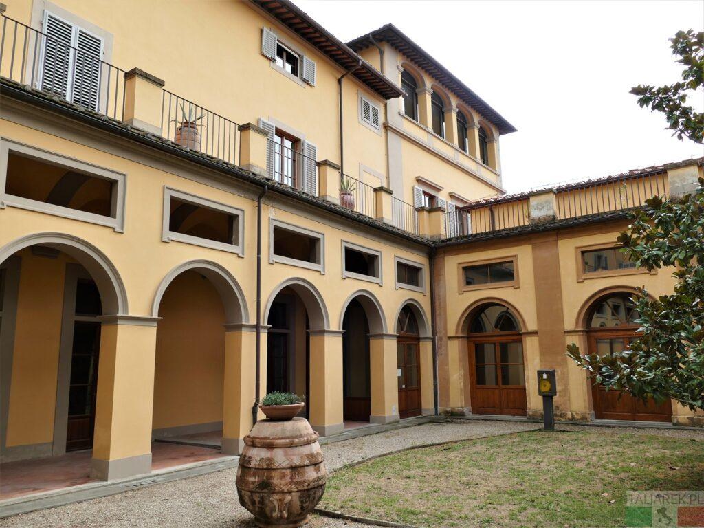 Villa la Quiete - dziedziniec
