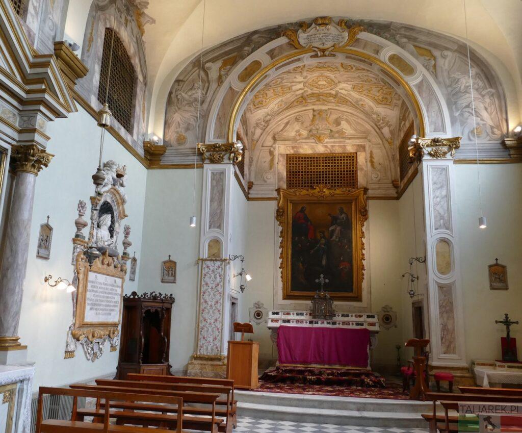 Villa la Quiete - kościół