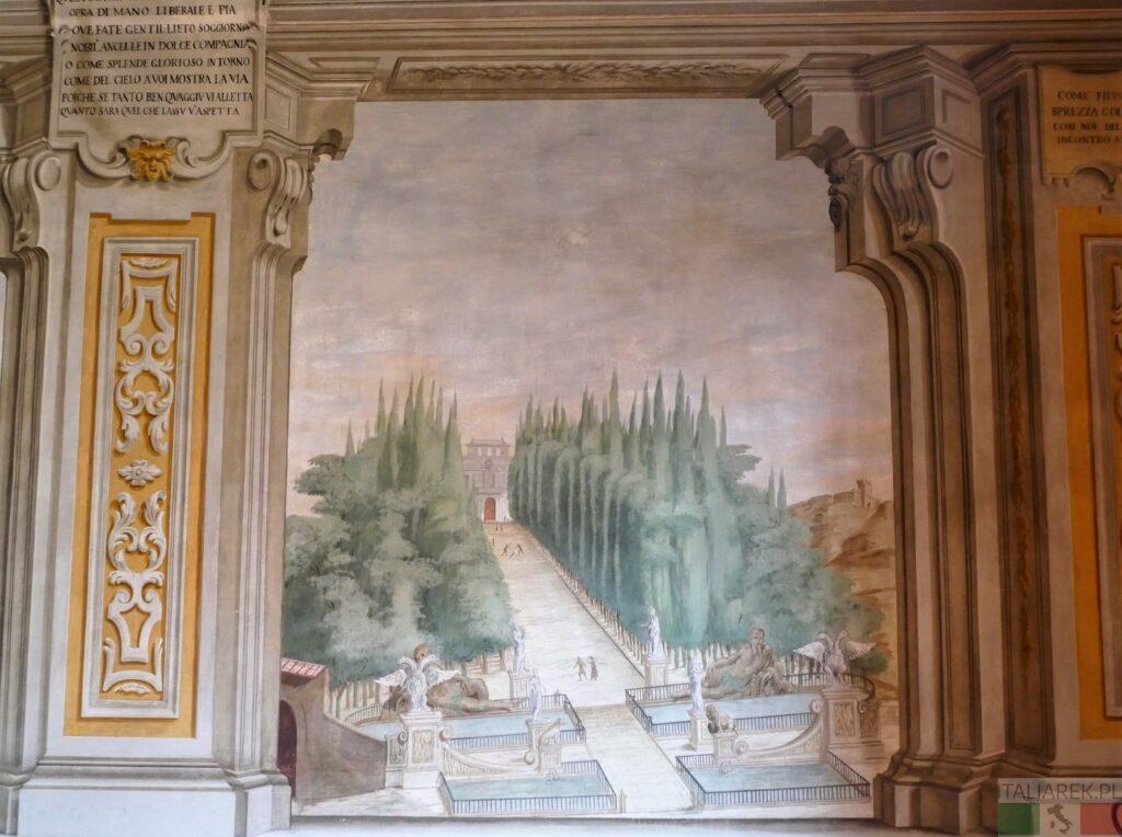 Villa la Quiete - freski