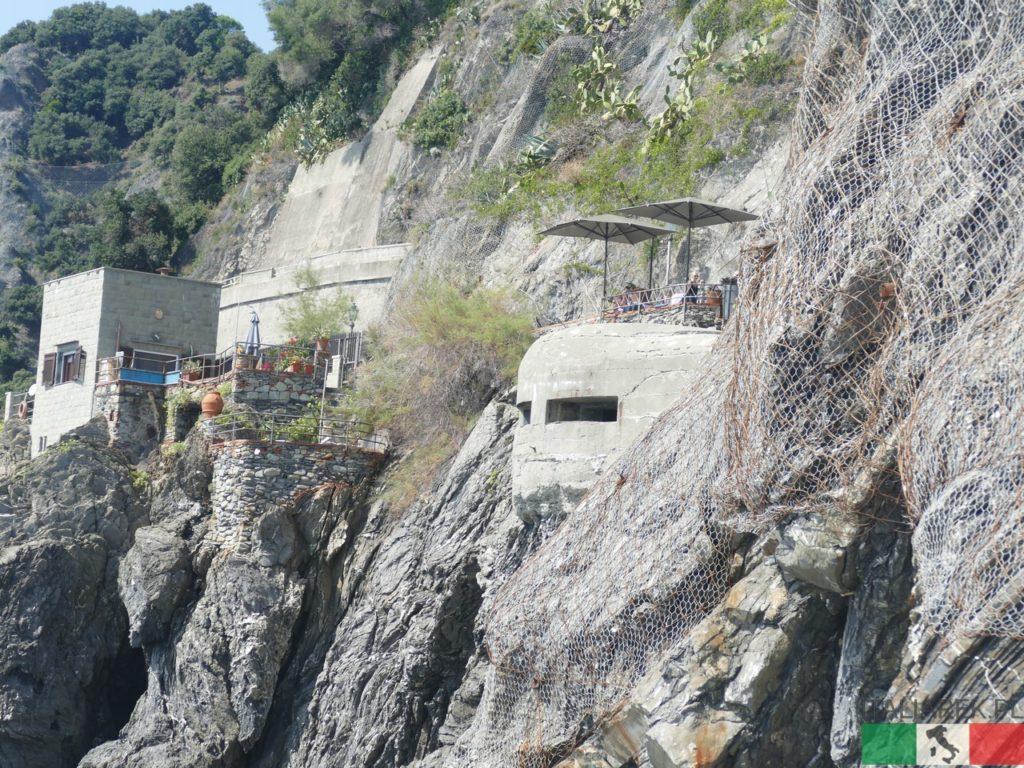 Monterosso - bunkier nabrzeżny