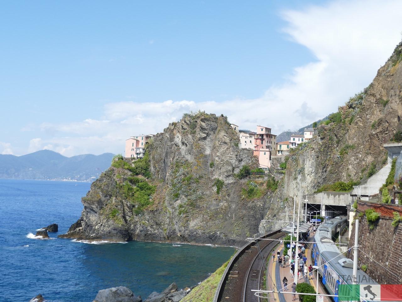 Cinque Terre - podróże pociągiem