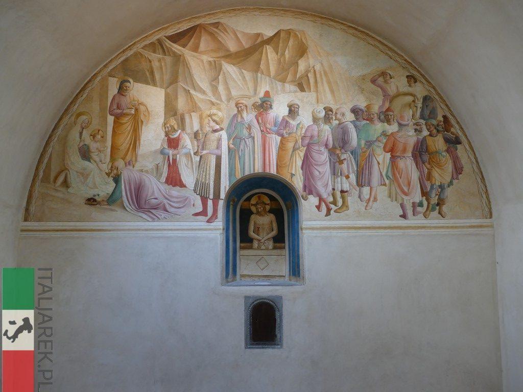 Jedna z cel w klasztorze San Marco