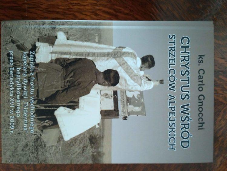 Chrystus wśród strzelców alpejskich, C. Gnocchi