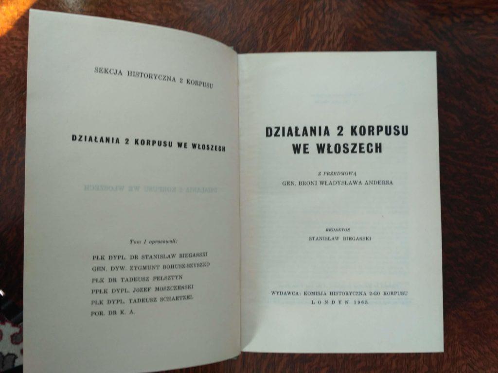 Działania 2 Korpusu we Włoszech