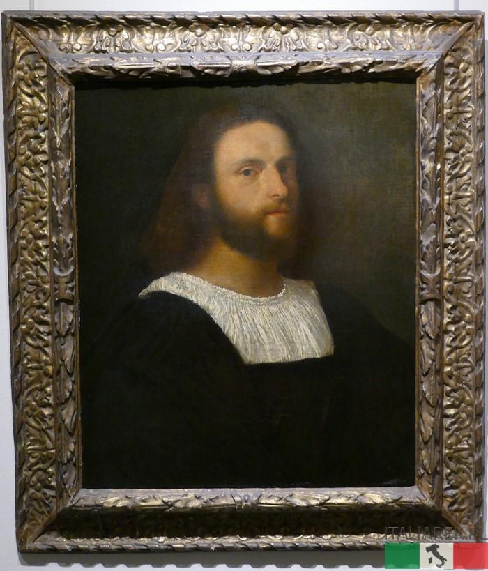 Tycjan - Portret mężczyzny