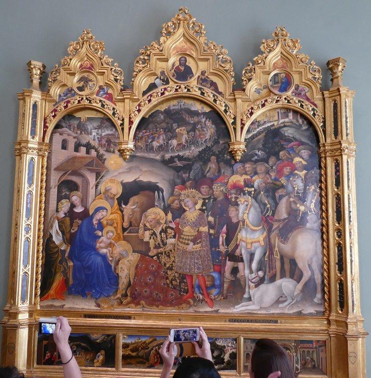 Gentile da Fabriano, Galeria Uffizi