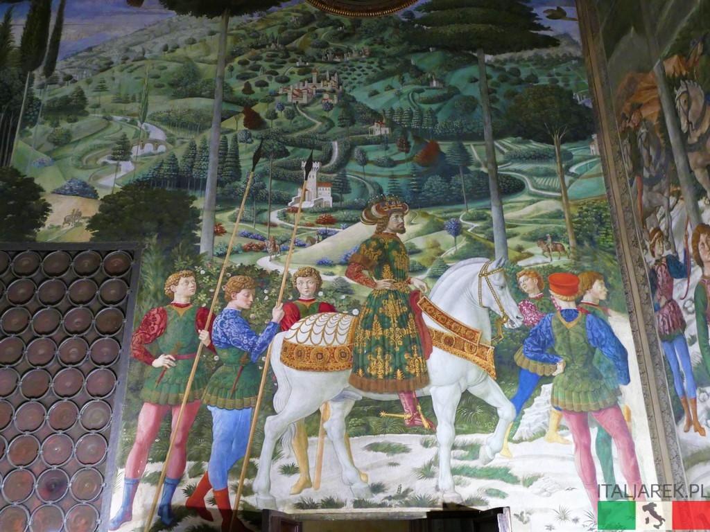 Benozzo Gozzoli: Orszak króla Kacpra (Cappella dei Magi)