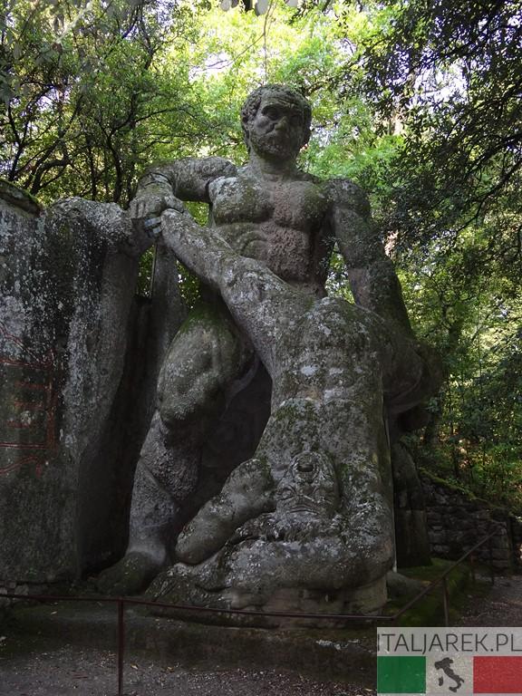 Walka gigantów - Parco dei Mostri