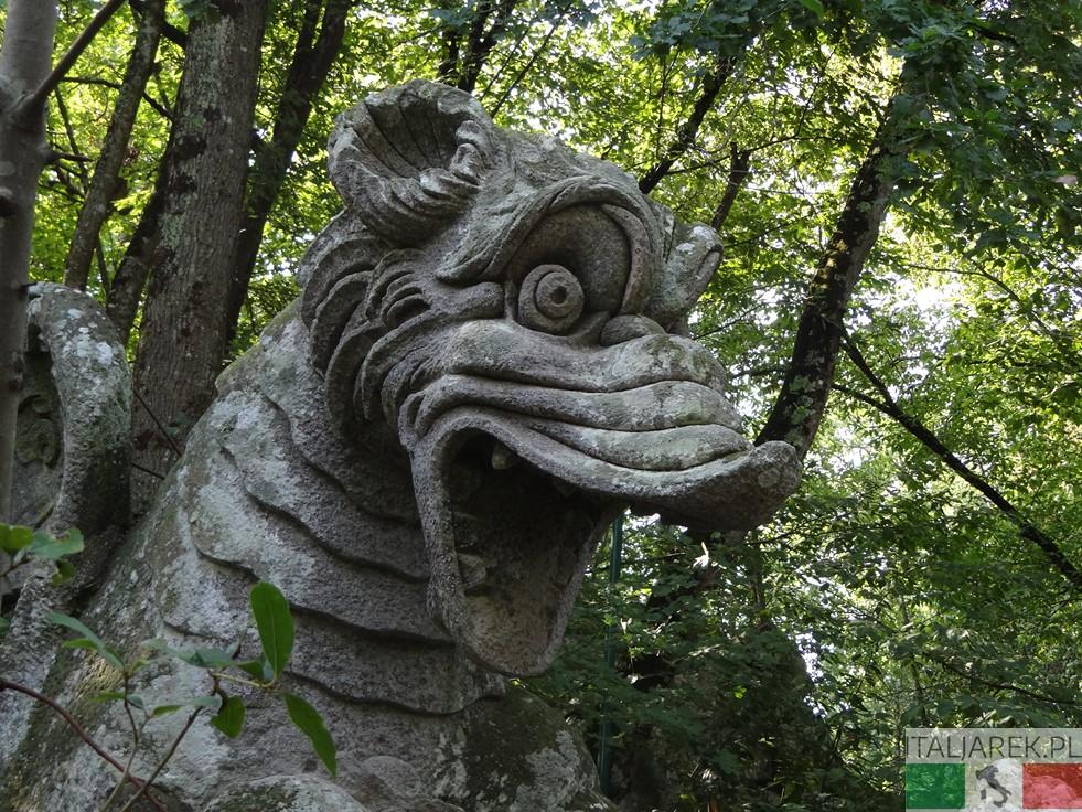 Głowa smoka