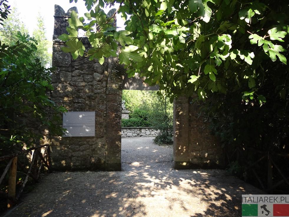 Parco dei Mostri - wejście