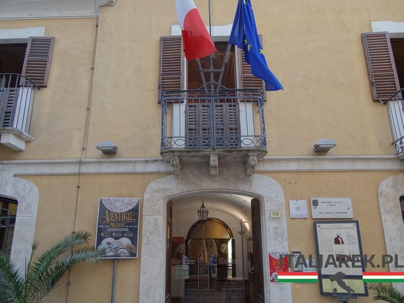 Pescara - muzeum D'Annunzia