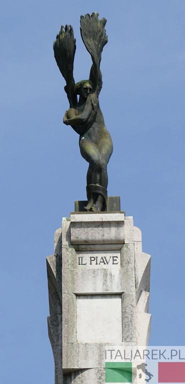 Vittoriale - pomnik ku czci zwycięstwa nas Piave
