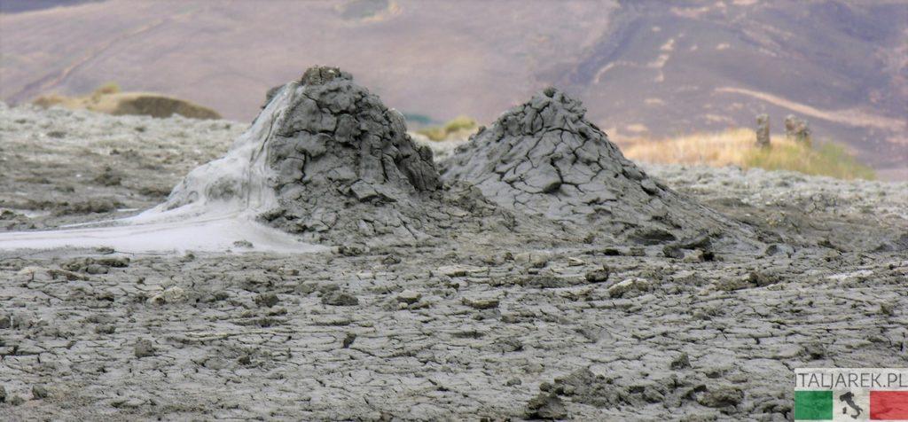 Wulkaniki błotne - Macalube di Aragnona