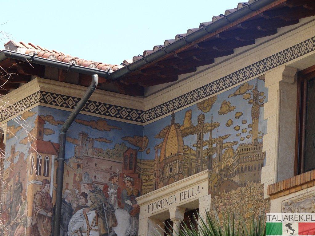 Dom Wróżek - malowidło Florencja