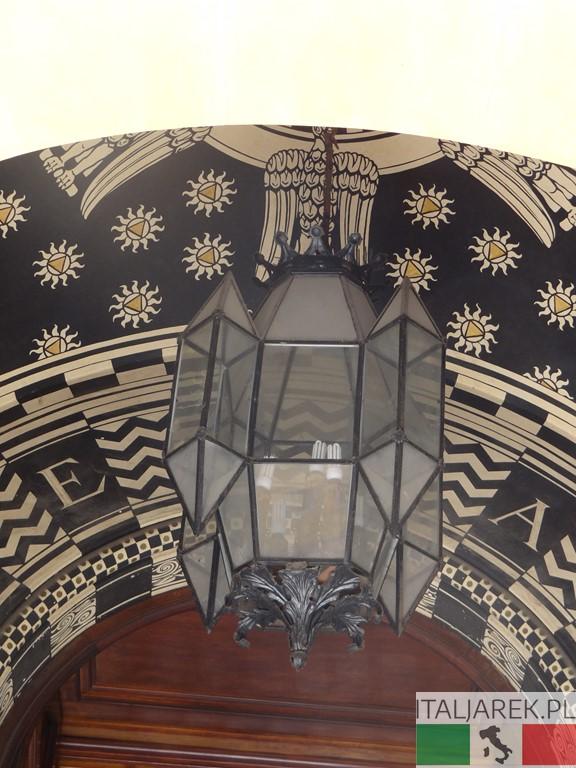 Coppede - pałac bez nazwy: detal