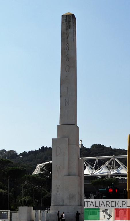 Foro Italico - obelisk