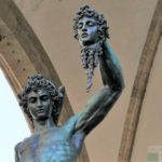 Florencja - Perseusz z głową Meduzy, B. Cellini