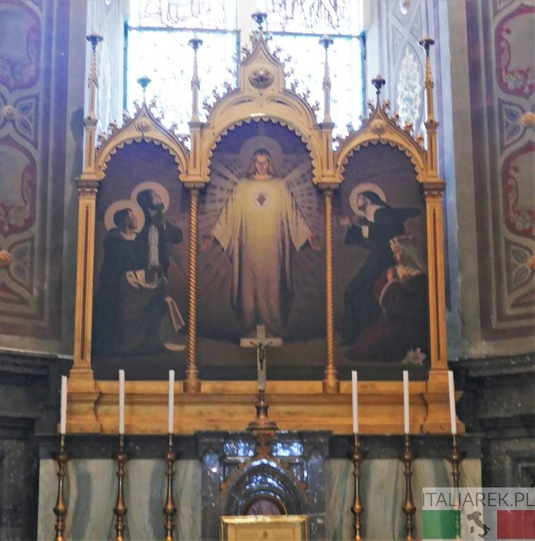 Ołtarz w kaplicy polskiej
