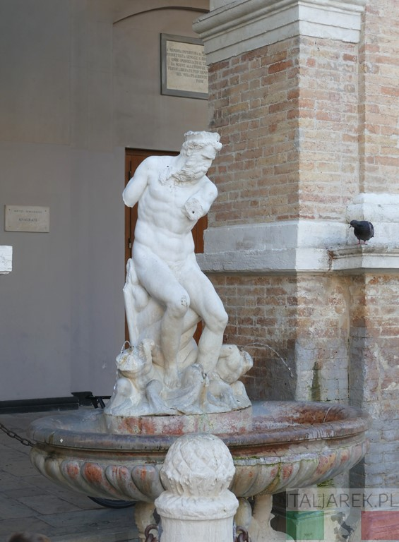 Fontanna Neptuna - Senigallia